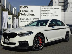 BMW 5シリーズ 523dMスポーツMパフォーマンスパーツ車両弊社デモカー黒革