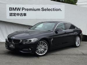 BMW 4シリーズ 435iグランクーペ ラグジュアリーACC直6ターボ認定保証