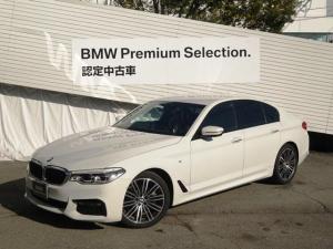 BMW 5シリーズ 523d Mスポーツ イノベーションパッケージ ヘッドアップディスプレイ アクティブクルーズコントロール ジェスチャーコントロール リモートパーキング HDDナビ地デジ レーンコントロールアシスト 19インチアルミ G30