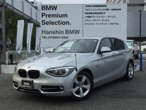 BMW 1シリーズ 116i スポーツ HDDナビ ミュージックコレクション キセノンヘッドライト スポーツシート 16インチアロイホイール フロントフォグランプ レインセンサー オートライト 電動格納ミラー 横滑り防止機能 F20