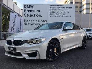 BMW M4 M4クーペ アクラポビッチマフラー LEDヘッドライト サキールオレンジレザー 衝突軽減ブレーキ 車線逸脱警告 サンルーフ アダプティブMサス Mカーボンセラミックブレーキ バックカメラ シートヒーター F80