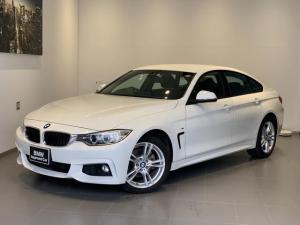 BMW 4シリーズ 420i xDriveグランクーペ Mスポーツ 4WD・アクティブクルーズコントロール・純正HDDナビ・バックカメラ・リアPDCセンサー・純正18インチAW・オートトランク・CD/DVD再生・ミラー内臓型ETC・キセノンヘッドライト・F36