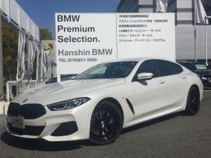 BMW 8シリーズ 840d xDrive グランクーペ Mスポーツ MテクニックスポーツPKG フィオナレッドレザー ワンオーナー  HDDナビ 地デジ 全周囲カメラ ソフトクローズドア 電動リアゲート ハーマンカードン カーボンコアボディ