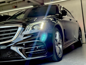 メルセデス・ベンツ Sクラス S560 4マチックロング AMGライン ショーファー 19インチAW 360度カメラ AMGLook