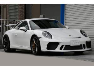ポルシェ 911 911GT3 ワンオーナー 禁煙車 車庫保管車 保証継承 スポーツクロノPKG クラブスポーツPKG フロントリフト LEDヘッドライト フルバケットシート PCCB Bカメラ