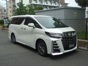 トヨタ アルファード 3.5エグゼクティブラウンジS 白革 ツインムーンルーフ