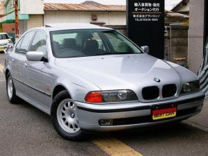 BMW 5シリーズ 525i 禁煙 車庫保管 記録簿25枚 SR Rブラインド