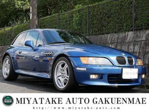 BMW Z3クーペ 2.8 弊社ユーザー買取車 黒革 SR MスポAW ダッシュ浮き無し サンルーフ 左ハンドル キーレス ETC ウッドパネル美