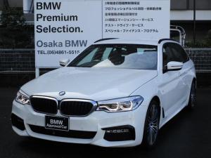 BMW 5シリーズ 523iツーリング Mスポーツ ブラックレザー LED