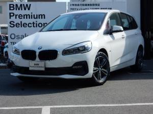 BMW 2シリーズ 218iグランツアラー スポーツ コンフォートP 17AW