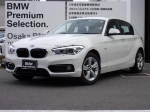 BMW 1シリーズ 118d スポーツ パーキングサポートP コンフォートP
