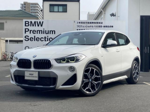 BMW X2 xDrive 18d MスポーツX 黒革シート 19インチアルミホイール LEDヘッドライト 電動シート 前後障害物センサー 電動リアゲートコンフォートアクセス シートヒーター バックカメラETC HDDナビ