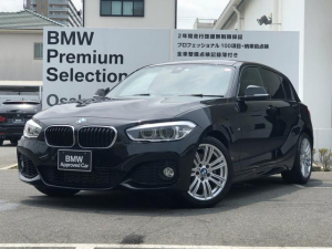 BMW 1シリーズ 118i Mスポーツ コンフォートパッケージ パーキングサポートパッケージ 純正HDDナビゲーション 純正17インチAW コンフォートアクセス