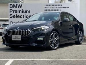 BMW 2シリーズ 218iグランクーペ Mスポーツ 弊社デモカー アクティブクルーズコントロール ナビゲーションパッケージ 純正18インチAW 運転席電動シート