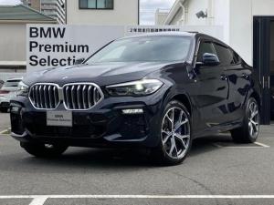 BMW X6 xDrive 35d Mスポーツ プラスパッケージ 21インチAW ソフトクローズドア パノラマガラスサンルーフ    保冷保温機能付き 純正地デジチューナー リアフィルム コニャック革 シートヒーター ハーマンカードン ACC