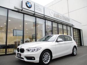 BMW 1シリーズ 118i パーキングサポートパッケージ 純正ミラーETC LEDヘッドライト フォグライト  DVD再生 ワンオーナー パーキングアシスト