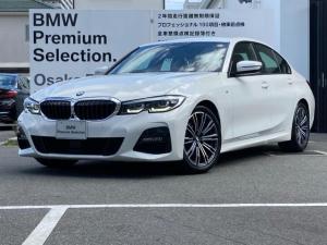BMW 3シリーズ 320i Mスポーツ パーキングアシストプラス  全周囲カメラ 後退アシスト 純正18AW アクティブクルーズコントロール LEDヘッドライト 弊社デモ トップビューカメラ HDDナビ ETC ACC