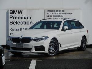 BMW 5シリーズ 530iツーリングMスポーツ弊社デモカー黒革HUD地デジ