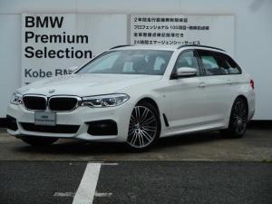 BMW 5シリーズ 523dツーリングMスポーツ弊社デモカー禁煙車ACC地デジ