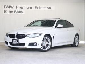 BMW 4シリーズ 420iクーペMスポーツ前タイヤ2本新品サンルーフレザシート
