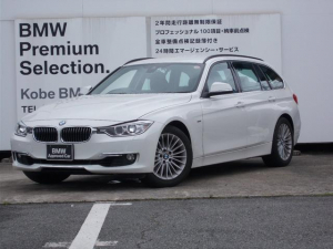 BMW 3シリーズ 320iツーリングラグジュアリー黒革純正ナビバックカメラ