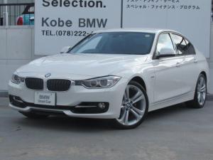 BMW 3シリーズ 320iスポーツ新品ラジアルタイヤ4本1オーナーBカメラ