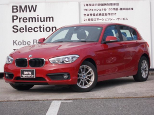 BMW 1シリーズ 118i 認定保証パーキングサポートPKGプラスPKG純正HDDナビゲーションバックカメラスマートキーミラーETCメルボルンレッド