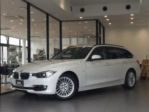 BMW 3シリーズ 320iツーリング ラグジュアリー ワンオーナー ブラックレザー パワーシート シートヒーター 電動リアゲート インテリジェントセーフティー 純正HDDナビ ミラーETC 禁煙車 バックモニター スマートキー