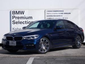 BMW 5シリーズ 523i Mスポーツ 弊社デモカー 弊社デモカー 純正19インチアルミホイール アクティブクルーズコントロール ステアリングアシスト コンフォートアクセス 全周囲カメラ 全周囲センサー アダプティブLEDヘッドライト シートヒーター