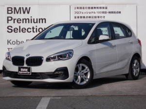 BMW 2シリーズ 218iアクティブツアラー LCIモデル プラスパッケージ パーキングサポートパッケージ 軽減ブレーキ 純正HDDナビ バックカメラ LEDヘッドライト ミラーETC