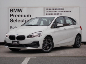 BMW 2シリーズ 218dアクティブツアラー スポーツ 1年間走行距離無制限保証/ワンオーナー/禁煙車/オプション17インチアルミホイール/純正HDDナビ/電動リアゲート/アクティブクルーズコントロール/ヘッドアップディスプレイ/バックカメラ/