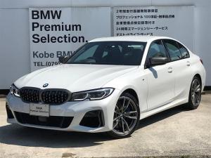 BMW 3シリーズ M340i xDrive 黒革 シートヒーター LEDレーザーライト ハーマンカードンスピーカー アダプティブMサスペンション 19インチアルミホイール パーキングアシスト アクティブクルーズコントロール Mブレーキ