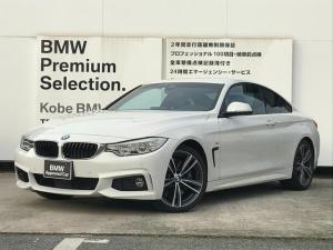 BMW 4シリーズ 435iクーペ Mスポーツ 1オーナー 左ハンドル 黒革 アダプティブMサスペンション アダプティブLEDヘッドライト Mスポーツブレーキ 純正19インチアルミ ACC 純正地デジ シートヒーター 電動パワーシート スマートキー