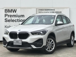 BMW X1 xDrive 18d 弊社デモカー 電動リアゲート 純正17インチアルミホイール LEDヘッドライト コンフォートアクセス 純正HDDナビ Bluetooth接続可 ミラーETC アンビエントライト バックカメラ