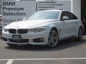 BMW 4シリーズ 435iグランクーペ Mスポーツ 黒革 サンルーフ ACC