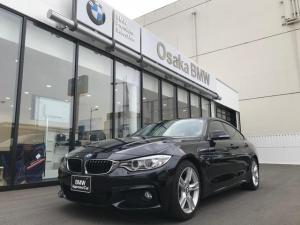 BMW 4シリーズ 420iグランクーペ Mスポーツ下取りワンオーナータイヤ新品