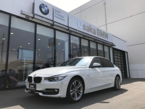 BMW 3シリーズ 320d スポーツ黒革 弊社下取1オーナー ACC 認定保証