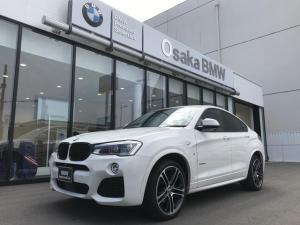 BMW X4 xDrive 35i Mスポーツ 弊社下取りワンオーナー・サンルーフ・ブラックレザー・純正20インチアロイホイール・LEDヘッドライト・アクティブクルーズコントロール・認定中古車・全国保証