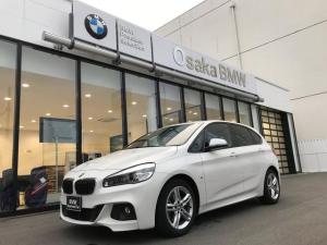 BMW 2シリーズ 218iアクティブツアラー Mスポーツ 弊社下取1オーナー LEDヘッドライト HDDナビ パーキングサポート 衝突軽減ブレーキシステム ミラー内蔵型ETC Mスポーツサスペンション アルカンタラスポーツシート Mスポーツステアリング