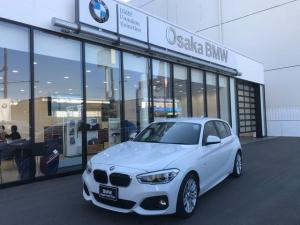 BMW 1シリーズ 118i Mスポーツ ワンオーナー車・バックカメラ・LEDヘッドライト・クルーズコントロール・DVD再生可能・純正17インチアロイホイール・アイドリングストップ・ミラー内蔵型ETC・SOSコールシステム