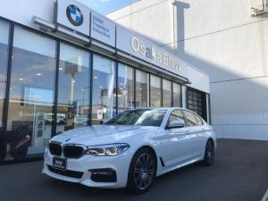 BMW 5シリーズ 523d Mスポーツ 弊社下取ワンオーナー・アクティブクルーズコントロール・LEDヘッドライト・純正19インチアロイホイール・純正HDDナビ・純正地デジチューナー・リアビューカメラ・ETC車載器