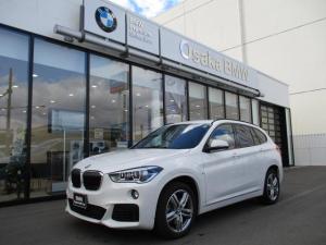 BMW X1 xDrive 20i Mスポーツ ハイラインパック ブラックレザーシート・電動シート・アクティブクルーズコントロール・ヘッドアップディスプレイ・弊社下取ワンオーナー・コンフオートアクセス・純正HDDナビ・電動リアゲート