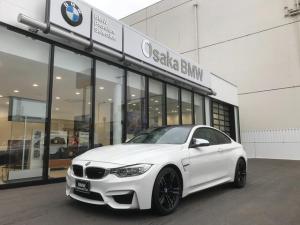 BMW M4 M4クーペ ワンオーナー・アダプティブMサスペンション・ヘッドアップディスプレイ・純正19インチアロイホイール・純正HDDナビ・バックカメラ・地デジ・ブラックレザーシート・全国保証・認定中古車