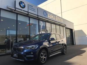 BMW X1 xDrive 20i xライン 弊社下取ワンオーナー・コンフォートパッケージ・ブラックレザーシート・フロントシートヒーター・LEDライト・リアモニター・社外アンプ・衝突被害軽減ブレーキ・HDDナビゲーション・ルームミラー内蔵ETC
