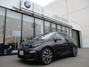 BMW i3 レンジ・エクステンダー装備車 茶レザー デモカー車 120Ah 純正HDDナビ バックカメラ アクティブクルーズコントロール