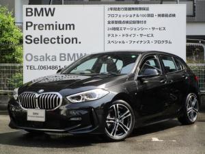 BMW 1シリーズ 118d Mスポーツ エディションジョイ+ 弊社デモカー ナビゲーションパッケージ 衝突被害軽減ブレーキ LEDヘッドライト ルームミラー内蔵ETC2.0 運転席電動シート Bluetoothオーディオ ワイヤレスチャージング(Qi規格)