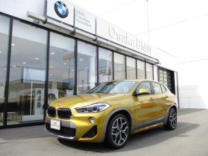 BMW X2 sDrive 18i MスポーツX 弊社デモカー・コンフォートパッケージ・電動リアゲート・フロントシートヒーター・ワイドモニター・純正HDDナビ・バックカメラ・ETC車載器・LEDヘッドライト