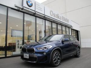 BMW X2 xDrive 18dMスポーツXエディションジョイ+ 弊社デモカー ハーフレザーシート LEDヘッドライト 10.2インチHDDナビゲーション 電動シート ルームミラー内蔵ETC2.0 衝突軽減ブレーキ SOSコールシステム 純正19インチホイール