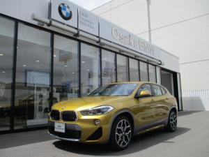 BMW X2 xDrive 18d MスポーツX ハイラインパック 弊社デモカー・ブラックレザーシート・コンフォートパッケージ・ワイドナビモニター・フロントシートヒーター・電動リアゲート・純正HDDナビ・バックカメラ・LEDヘッドライト・全国保証