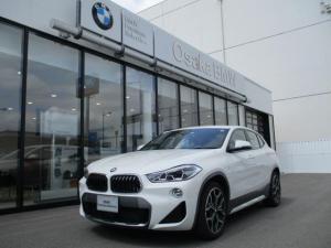 BMW X2 sDrive 18i MスポーツX ハイラインパック 弊社デモカー・ブラックレザーシート・コンフォートパッケージ・電動リアゲート・ワイドモニター・純正HDDナビ・バックカメラ・電動シート・LEDヘッドライト・衝突軽減ブレーキ